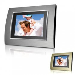 Coby - DP-767 - Coby DP-767 Widescreen Digital Photo Frame - Audio Player, Video Player, Photo Viewer - 7 TFT LCD