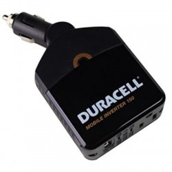 Battery-Biz - DRINVM150 - Duracell Power Inverter - Input Voltage: 12 V DC - Output Voltage: 5 V DC, 127 V AC - Continuous Power: 100 W