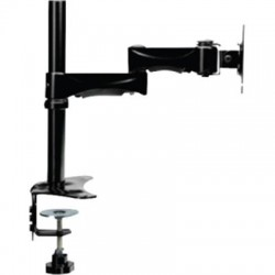 Doublesight - DS-230PS - DoubleSight Displays Dual Monitor Flex Arm, Swing Style TAA - 30 Screen Support - 60 lb Load Capacity