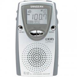 Sangean - DT-210 - Sangean DT-210 Portable Radio Tuner - 30 Presets