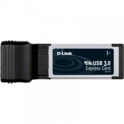 D-Link - DUB-1320 - D-Link 2-port ExpressCard USB Adapter - ExpressCard/34 - External - 2 USB Port(s) - 2 USB 3.0 Port(s)