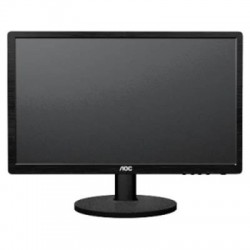 AOC - E2460SD - AOC E2460SD 24 LED LCD Monitor - 5 ms - Adjustable Display Angle - 1920 x 1080 - 16.7 Million Colors - 250 Nit - 20,000,000:1 - Full HD - DVI - VGA - 18 W - Black - ENERGY STAR