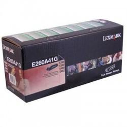 Lexmark - E260A41G - Lexmark Black Toner Cartridge - Laser - 3500 Page - Black