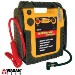 Wagan - EL2412 - Wagan 2412 900 Amp Battery Jumper with Air Compressor