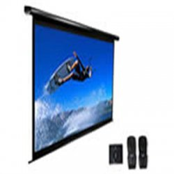 "Elite Screens - ELECTRIC106X - Elite Screens Electric106X Spectrum Ceiling/Wall Mount Electric Projection Screen (106"" 16:10 Aspect Ratio) (MaxWhite) - MaxWhite - 106"" Diagonal"
