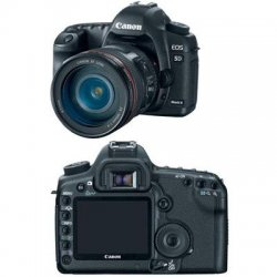 Canon - 2764B004 - Canon EOS 5D Mark II 21.1 Megapixel Digital SLR Camera (Body with Lens Kit) - 24 mm - 105 mm