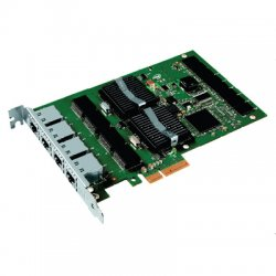 Intel - EXPI9404PT - Intel PRO/1000 PT Quad Port Server Adapter - PCI Express - 4 x RJ-45 - 10/100/1000Base-T