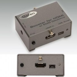 Gefen - EXT-HDBOOST-141 - Gefen Booster for HDMI with EDID Detective - 300 MHz to 300 MHz - HDMI In - HDMI Out - USB