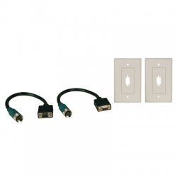 Tripp Lite - EZA-VGAF-2 - Tripp Lite Easy Pull Type-A Connectors - (F/F set of VGA with Faceplates)