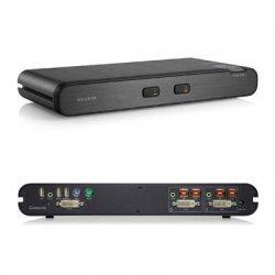 Belkin / Linksys - F1DN102C - Linksys OmniView KVM Switch - 2 Computer(s) - TAA Compliant