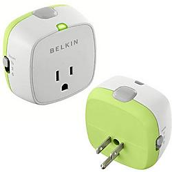 Belkin - F7C009Q - Belkin Conserve Socket F7C009Q Power Saving Device - 1 x Power Receptacles - 110 V AC / 15 A