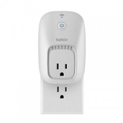 Belkin - F7C027FC - Linksys WeMo Switch - Lamp, Fan Control, Light Control, Heater Control - White