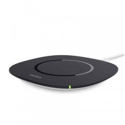 Belkin - F8M741TT - Belkin Qi Wireless Charging Pad - 5 V DC Output - Input connectors: USB - AC Plug