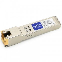 AddOn - FCMJ-8521-3-AO - AddOn Finisar FCMJ-8521-3 Compatible TAA Compliant 1000Base-TX SFP Transceiver (Copper, 100m, RJ-45) - 100% application tested and guaranteed compatible
