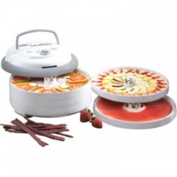 Metal Ware / Nesco - FD-75PR - 600w Food & Jerky Dehydrator Adjustable Thermostat