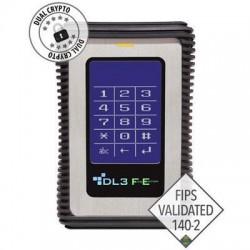 DataLocker - FE2000 - DataLocker DL3 FE (FIPS Edition) 2 TB Encrypted External Hard Drive - FIPS Validated External USB 3.0 HDD with AES/CBC+XTS Mode Data Encryption 2TB
