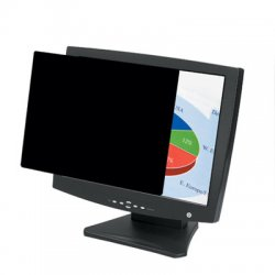 "Fellowes - 4800401 - Fellowes PrivaScreen™ Blackout Privacy Filter - 18.1"" - For 18.1""LCD Notebook, Monitor - TAA Compliant"