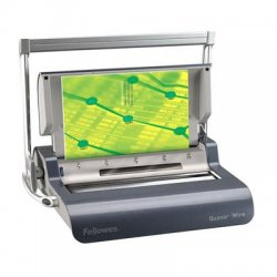 Fellowes - 5217401 - For Moderate Use. Punches 15 Sheets At A Time And Binds Up To 130 Sheets With A