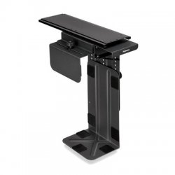Fellowes - 8036201 - Fellowes Professional CPU Mount for CPU - 40 lb Load Capacity - Steel - Black