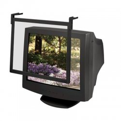 "Fellowes - 93785 - Fellowes Standard Filter Trad Tint - 16/17"", Black Frame Black - For 17"", 16""CRT, LCD Monitor"