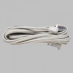 Fellowes - 99596 - Fellowes Heavy Duty Indoor 15' Extension Cord - 125 V AC Voltage Rating - 15 A Current Rating - Gray