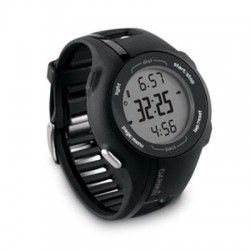 Garmin - 010-00863-34 - Garmin Forerunner 210 GPS Watch - Wrist - 1 - 52 x 30 - GPS - 8 Hour - 2.70 - 1.80 - Black - Sports, Tracking - Water Resistant