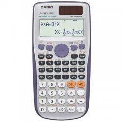 Casio - fx-115ESPlus - Casio FX115ESPLUS Scientific Calculator - Slide-on Hard Case, Plastic Key, Auto Power Off - 2 Line(s) - 12 Digits - Battery/Solar Powered - 1 Each