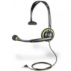 Plantronics - 72481-11 - Plantronics GameCom X10 Headset - Mono - Wired - Over-the-head - Monaural - Supra-aural - Noise Cancelling Microphone
