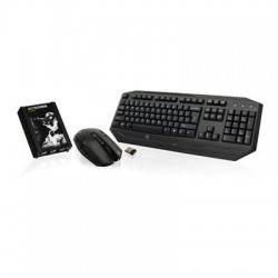 IOGear - GE1337PKIT - Keyboard + Mice GE1337PKIT Keymander Wireless Keyboard and Mouse Combo Retail