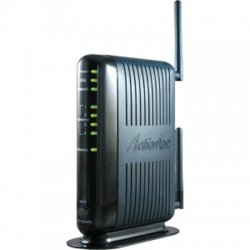 Actiontec - GT784WN-01 - Actiontec GT784WN DSL Modem/Wireless Router - No Filters - ISM Band - 300 Mbps Wireless Speed - 4 x Network Port