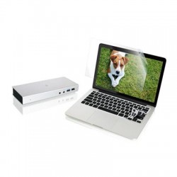IOGear - GTD720GKSMP13KIT - IOGEAR Thunderbolt 2 Docking Station with 13 Macbook Pro Retina Protector Bundle