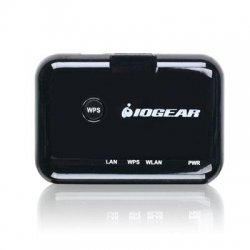IOGear - GWU627W6 - IOGEAR IEEE 802.11n - Wi-Fi Adapter for Desktop Computer/TV/DVR/Gaming Console/Blu-ray Disc Player - RJ-45 - 300 Mbit/s - 2.48 GHz ISM - 1312.3 ft Outdoor Range - External