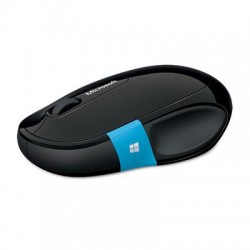 Microsoft - H3S-00003 - Microsoft Mouse - Wireless - Bluetooth - Black