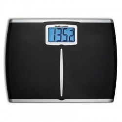 Jarden - HDM459DQ-05 - Health o Meter Extra Wide Weight Tracking Scale - 400 lb - Black