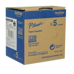 Brother International - HGE2215PK - 5PK BLACK ON WHITE