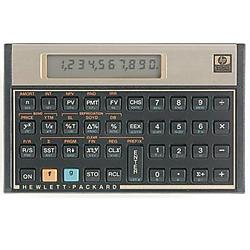 Hewlett Packard (HP) - 12C#ABA - HP 12c Financial Calculator - 120 Functions - 1 Line(s) - 10 Digits - LCD - Battery Powered - 5 x 3.1 x 0.6