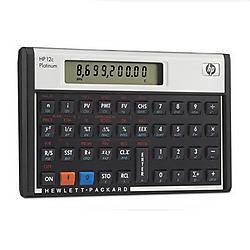 Hewlett Packard (HP) - F2231AA - HP 12c Financial Calculator - 130 Functions - 1 Line(s) - 10 Digits - LCD - Battery Powered - 3.1 x 0.6 x 5