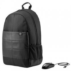 Hewlett Packard (HP) - 1FK04AA#ABL - 15.6 Classic Backpack & Mouse