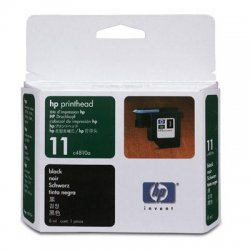 Hewlett Packard (HP) - C4810A - HP 11 Original Printhead - Inkjet - 16000 Pages - Black - 1 Each