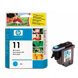Hewlett Packard (HP) - C4811A - HP 11 Original Printhead - Single Pack - Inkjet - 24000 Pages - Cyan - 1 Each