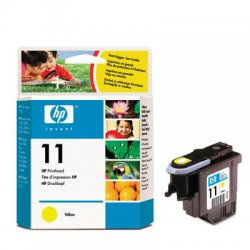 Hewlett Packard (HP) - C4813A - HP 11 Yellow Printhead - Inkjet - 24000 Page Yellow - 1 Each