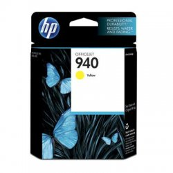 Hewlett Packard (HP) - C4905AN#140 - HP 940 Original Ink Cartridge - Yellow - Inkjet - Standard Yield - 900 Pages - 1 Each