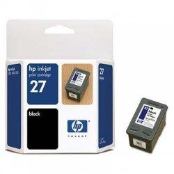 Hewlett Packard (HP) - C8727AN - HP 27 Black Original Ink Cartridge - Inkjet - 280 Page - 1 Each