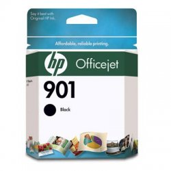 Hewlett Packard (HP) - CC653AN#140 - HP 901 Original Ink Cartridge - Single Pack - Inkjet - 200 Pages - Black - 1 Each
