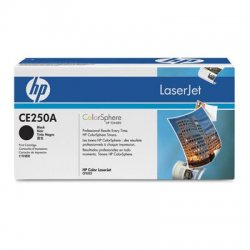 Hewlett Packard (HP) - CE250A - HP 504A Original Toner Cartridge - Laser - 5000 Pages - Black - 1 Each