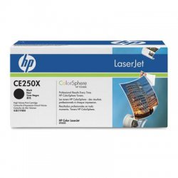 Hewlett Packard (HP) - CE250X - HP 504X Original Toner Cartridge - Single Pack - Laser - 10500 Pages - Black - 1 Each