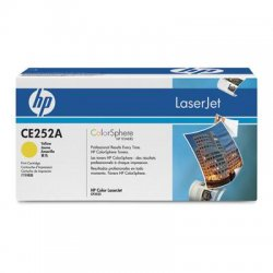 Hewlett Packard (HP) - CE252A - HP 504A (CE252A) Yellow Original LaserJet Toner Cartridge - Laser - 7000 Pages - 1 Each