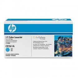 Hewlett Packard (HP) - CE261A - HP 648A (CE261A) Cyan Original LaserJet Toner Cartridge - Laser - Standard Yield - 11000 Page - 1 Each