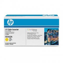 Hewlett Packard (HP) - CE262A - HP 648A Original Toner Cartridge - Single Pack - Laser - Standard Yield - 11000 Pages - Yellow - 1 Each