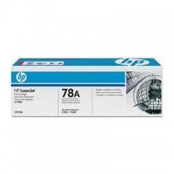 Hewlett Packard (HP) - CE278A - HP 78A (CE278A) Black Original LaserJet Toner Cartridge - Laser - 2100 Page - 1 Each
